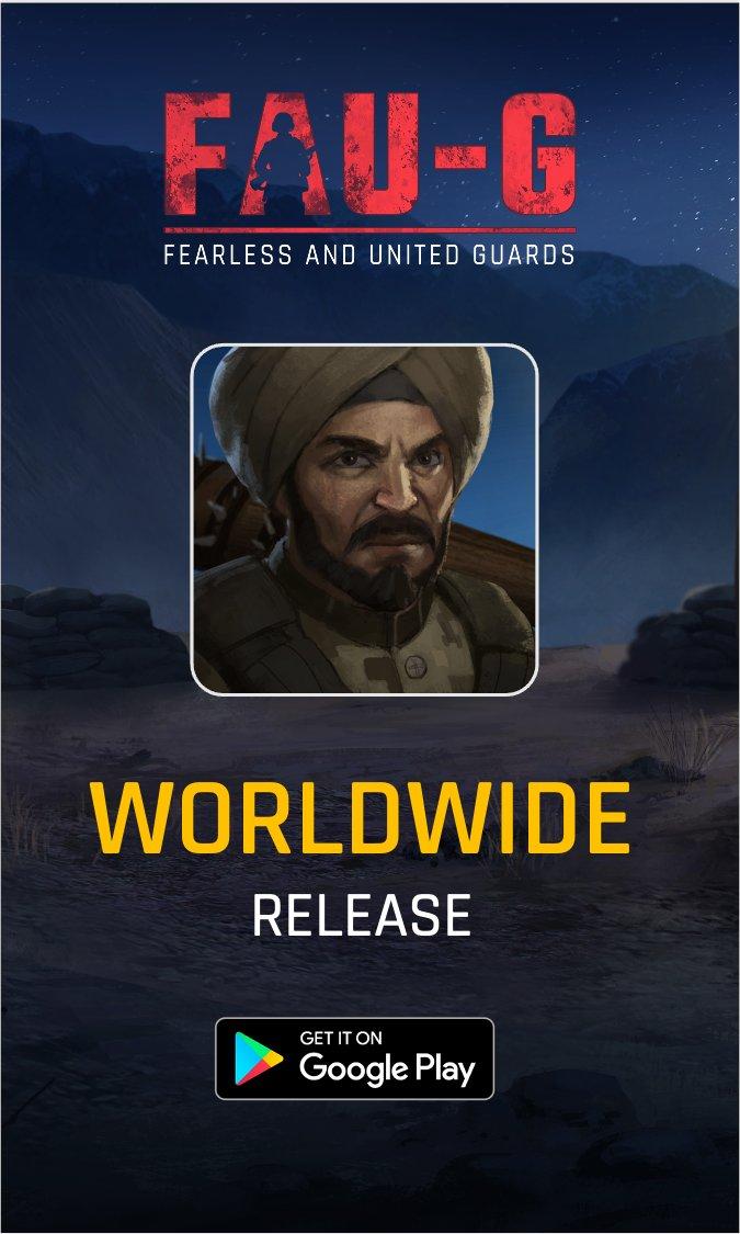 FAU-G goes global 🌍 #1 Free game FAU-G, proudly made in India, is now available worldwide.   Download now:   #FAUG #atmanirbharbharat  @vishalgondal  @akshaykumar  @dayanidhimg  @BharatKeVeer