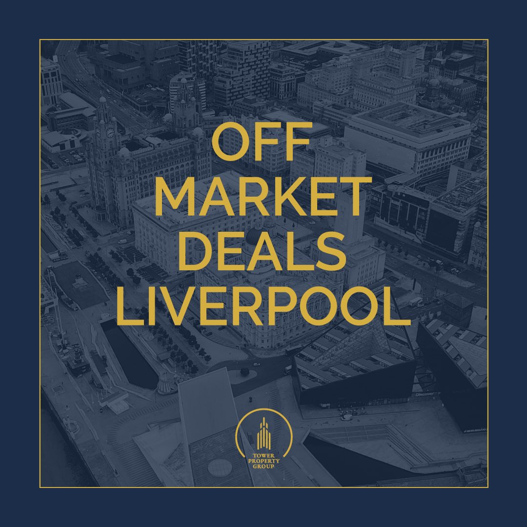 Are you looking to invest in property in Liverpool? 🏠  We have over 30 fully off-market direct to vendor deals, including BRR deals, HMO's, blocks of flats, buy-to-lets & mixed-use (residential/commercial).  DM us for more info or to be added to our mailing list. 📥