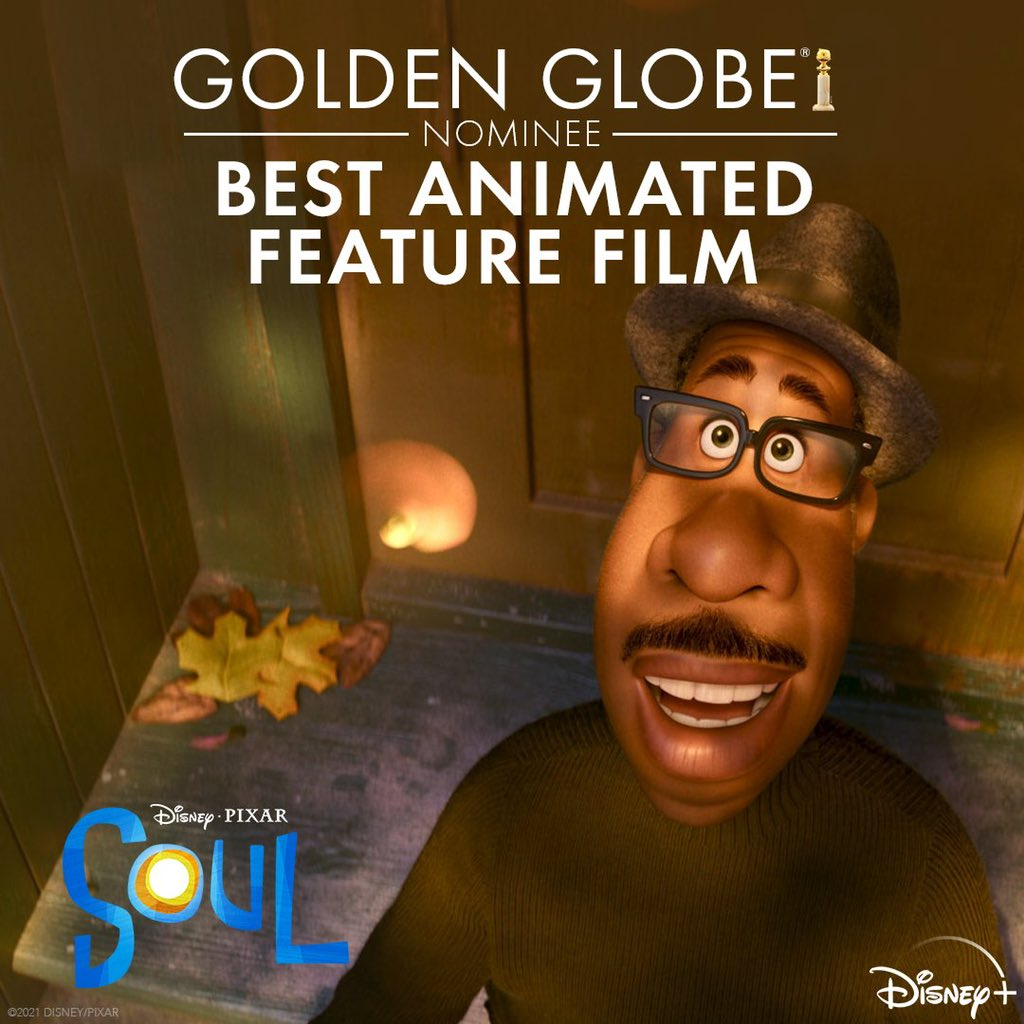 Congratulations to Team #PixarSoul for today's #GoldenGlobes nominations for best Animated Film and Best Score!