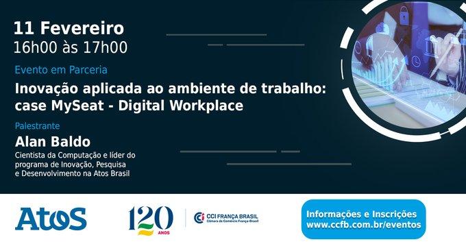 参加网络研讨会:Inovação Aplicada ao Ambiente de Trabalho。NestaSessãoAlanBaldo  - L�...