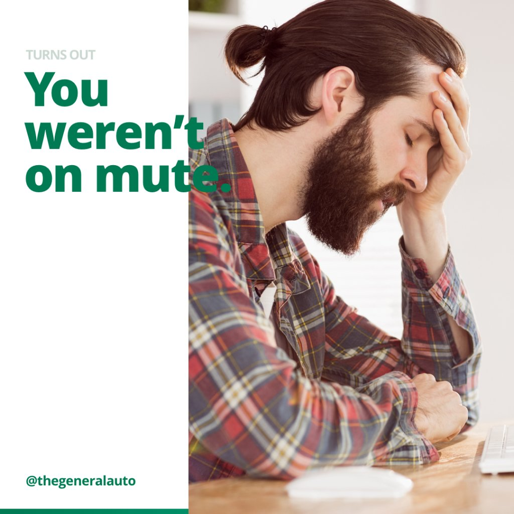 No judgement, we've all been there.   While we don't cover embarrassing situations, The General Insurance has you covered when you're on the go.   Find out why you should #RideWithTheGeneral at .