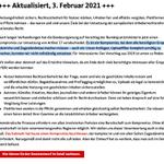 Image for the Tweet beginning: Update: Die @CDU hat nach