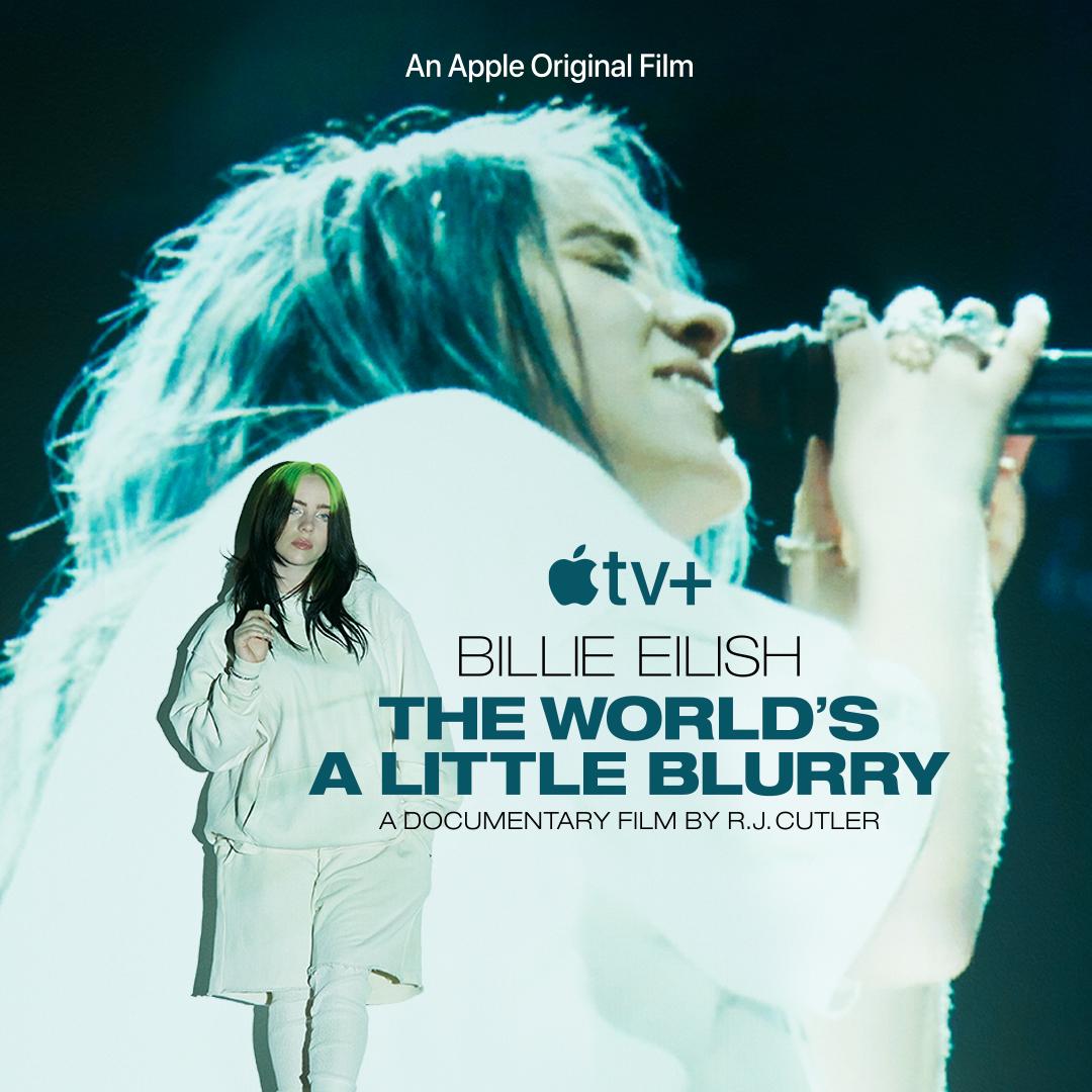 Billie Eilish: #TheWorldsALittleBlurry Coming 2/26 to Apple TV+ @appletv
