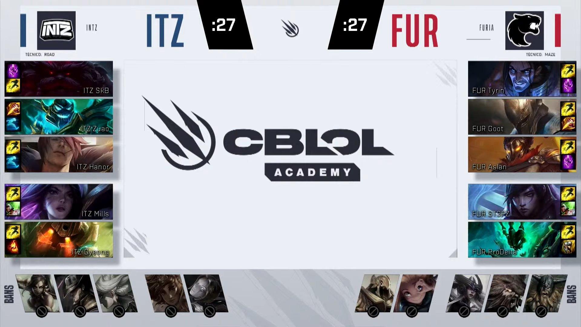 CBLOL Academy – Vorax vence pela primeira vez e sai da lanterna!