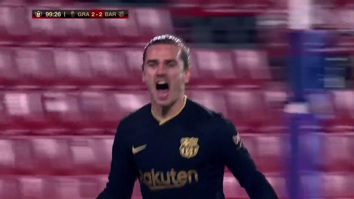 Replying to @FCBarcelona_es: Siiiiii ¡Estaaaamos en semiiiiiiis!  FORÇAAAA BARÇAAA 💪🔵🔴