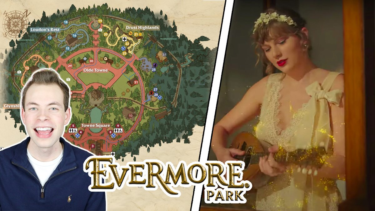 """@taylorswift13 So I saw you were wrongly sued by """"Evermore Park"""" for trademark infringement... I read the entire 132 page lawsuit and they've made the WORST argument I've ever seen 😂  You're totally gonna win!!  Also, I made a video outlining their hilarious """"evidence"""":"""