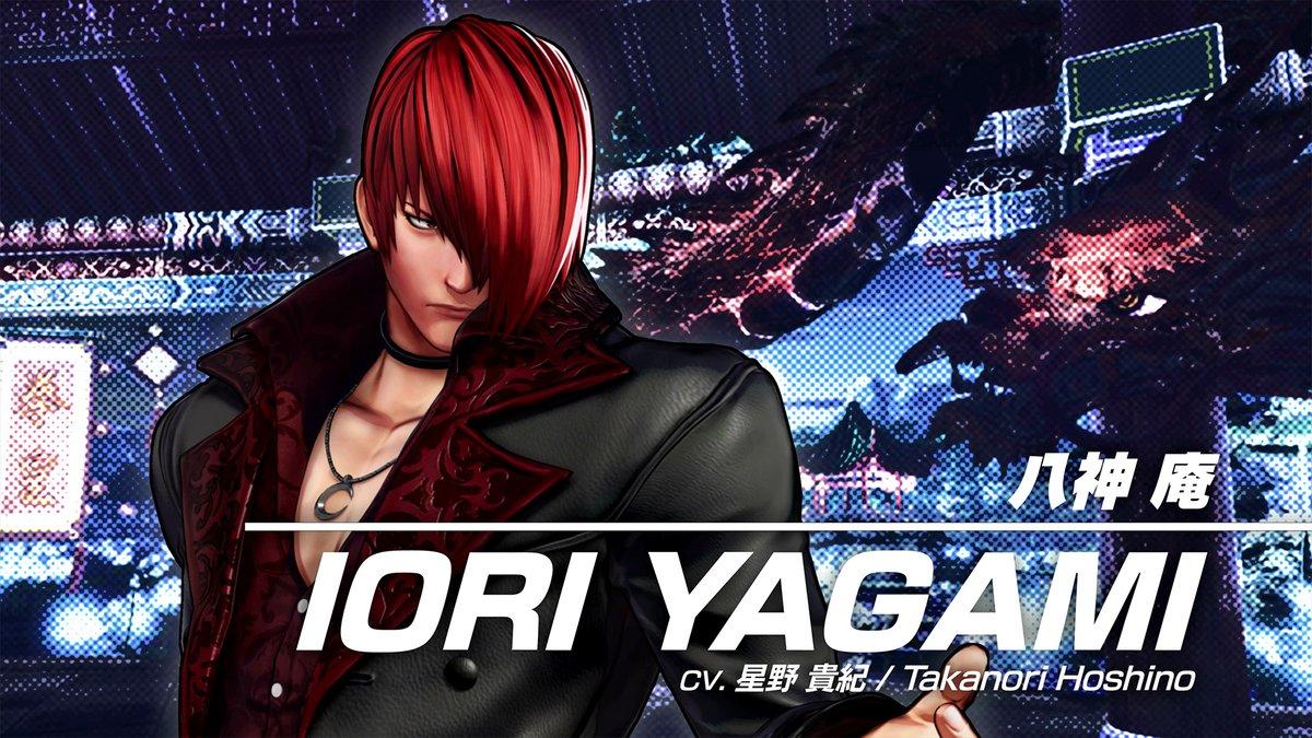 Iori Yagami KOFXV trailer