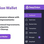 Image for the Tweet beginning: New DeepOnion Maintenance Release 2.2.2