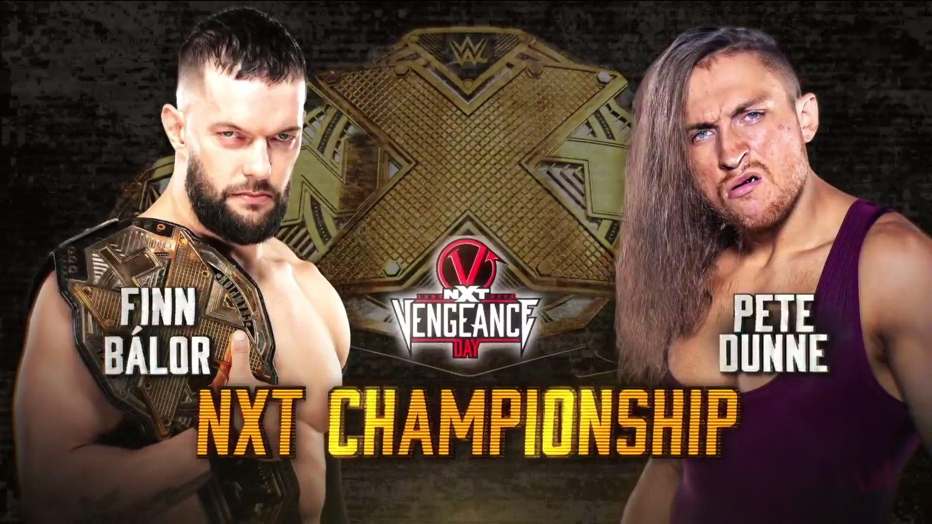 NXT Presents Vengeance Day