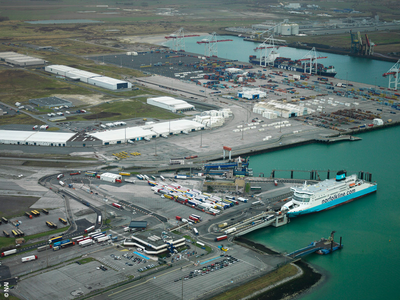 [#info] La darse du @DunkerquePort va être aménagée afin d'accueillir notre nouveau #silo .