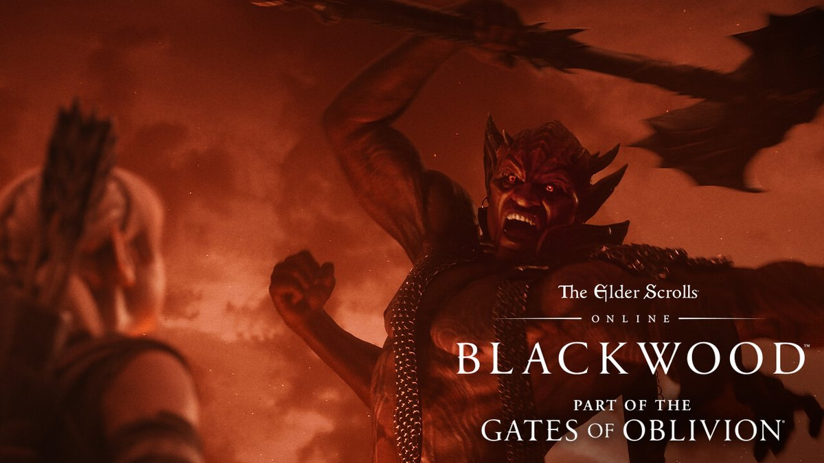 Fire and ambition come to Tamriel with The Elder Scrolls Online: Blackwood, part of the Gates of Oblivion year-long adventure.   Pre-order now: https://t.co/qpkTS9DyjO https://t.co/O76ZDPLSNg
