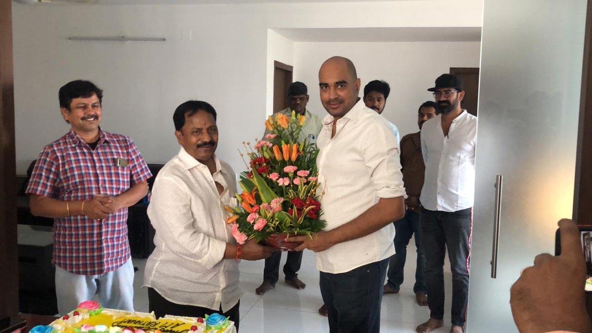 Happy Birthday to legendary producer with a magnanimous vision Sri AM Ratnam garu ✨