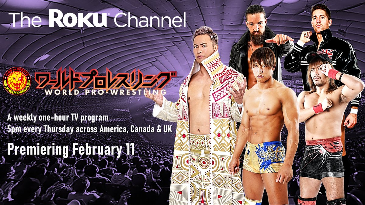 NJPW Announces Deal With The Roku Channel