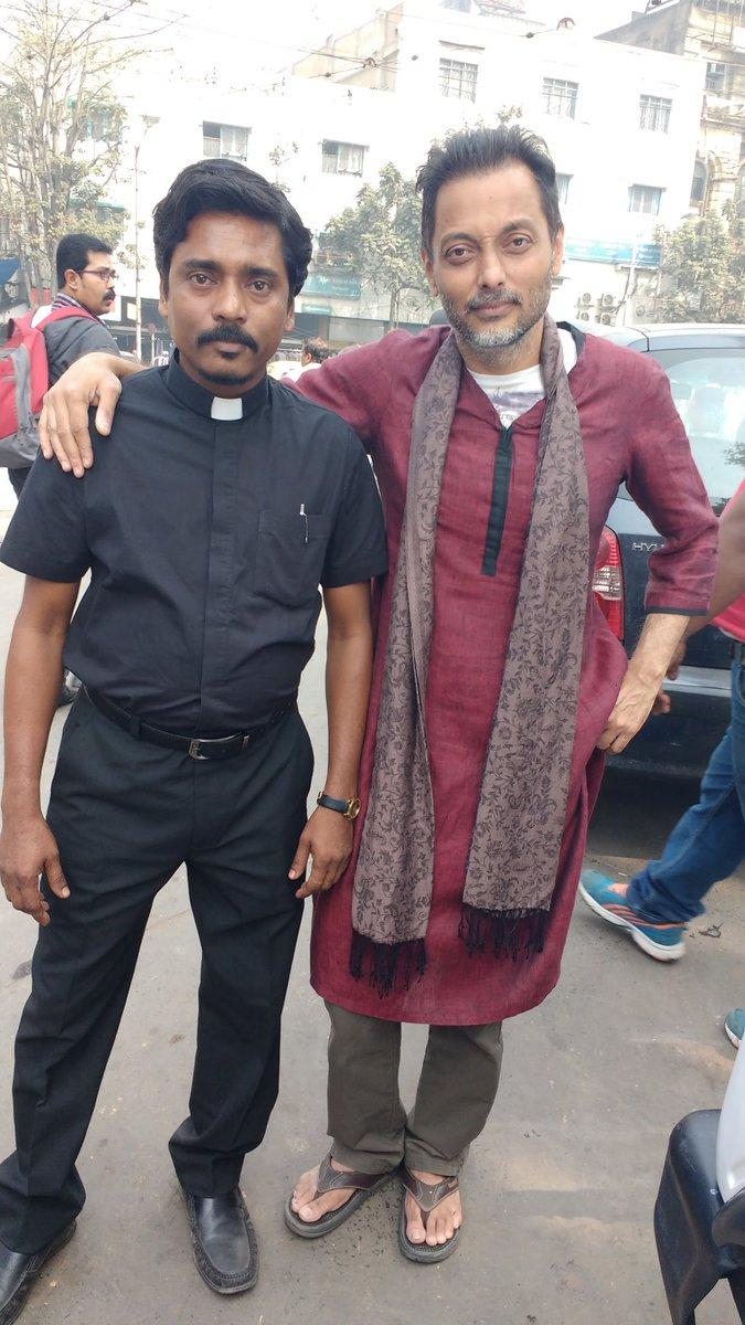 stunt doubles for @vidya_balan and @Nawazuddin_S from #TE3N by @ribhudasgupta