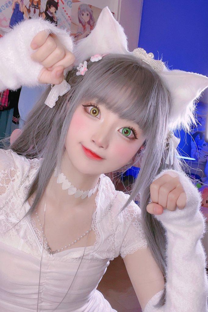 画像,白い猫が好きですか?♡ॢ₍⸍⸌̣ʷ̣̫⸍̣⸌₎ https://t.co/HSJXp67L69。
