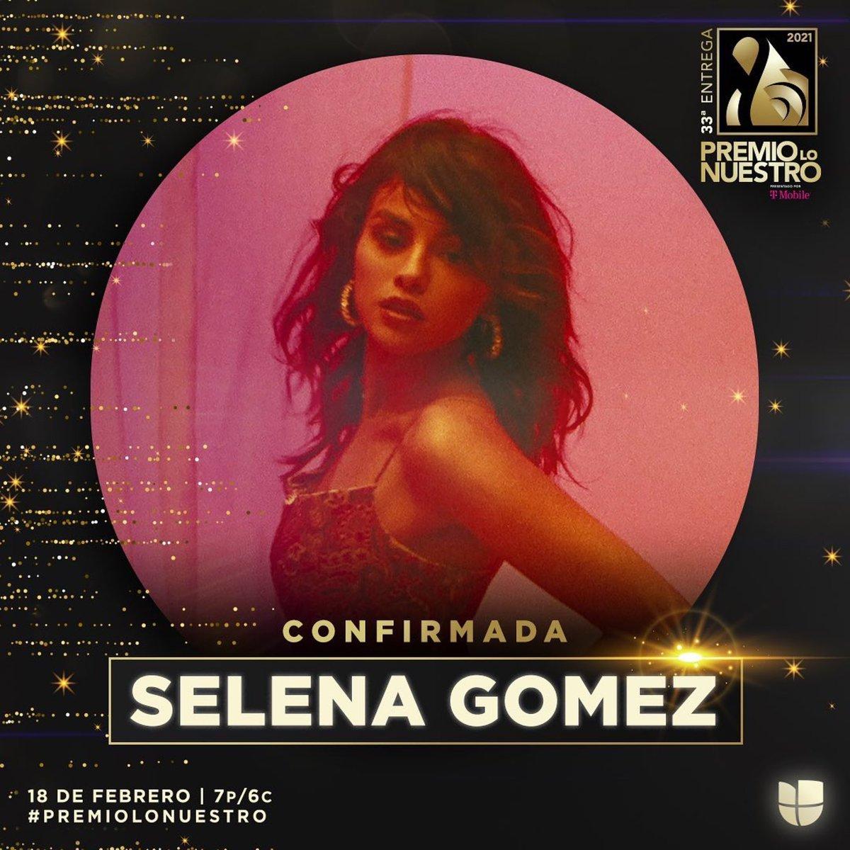 ¡Baila, baila, baila conmigo! La súper estrella mundial, actriz y activista social @selenagomez nos regalará una presentación especial de su nuevo tema en #PremioLoNuestro