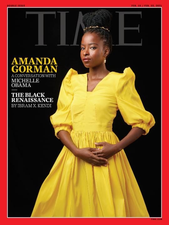 TIME's new cover: Amanda Gorman in conversation with Michelle Obama, Ibram X. Kendi on the Black Renaissance and more