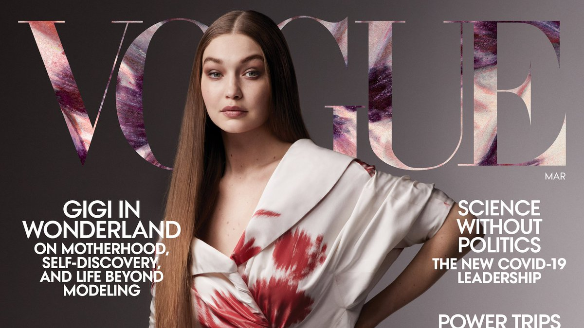 .@GigiHadid is our March cover star! Read how motherhood has opened her up to a new world–and a new set of priorities: