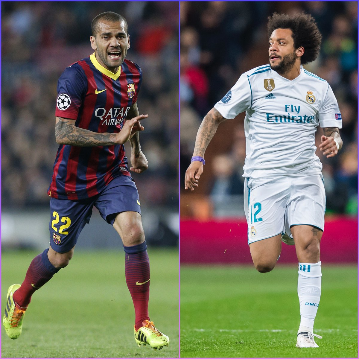 🇧🇷 Dani Alves OR Marcelo?  #UCL