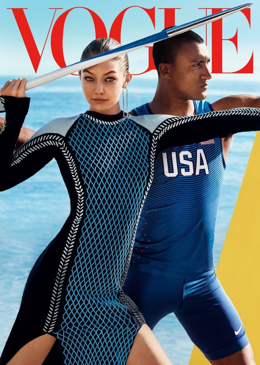 Vogue's March 2021 issue marks Gigi Hadid's 4th cover for the American edition and her first solo cover.