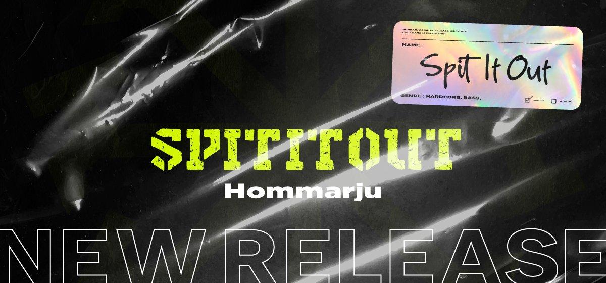▼Onigoの日 2021 その③新曲「Spit It Out / Hommarju」をリリースしました!Onigoと同じBPM175のズンドコハードコアです。ジャケットはヒトマスモドル(@00unit )御大!もちろん25%割引も使えます!みんな買ってちょ✅Spit It Out / Hommarju#Onigoの日 #bandcamp