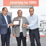 Image for the Tweet beginning: Bobst India reaches milestone of