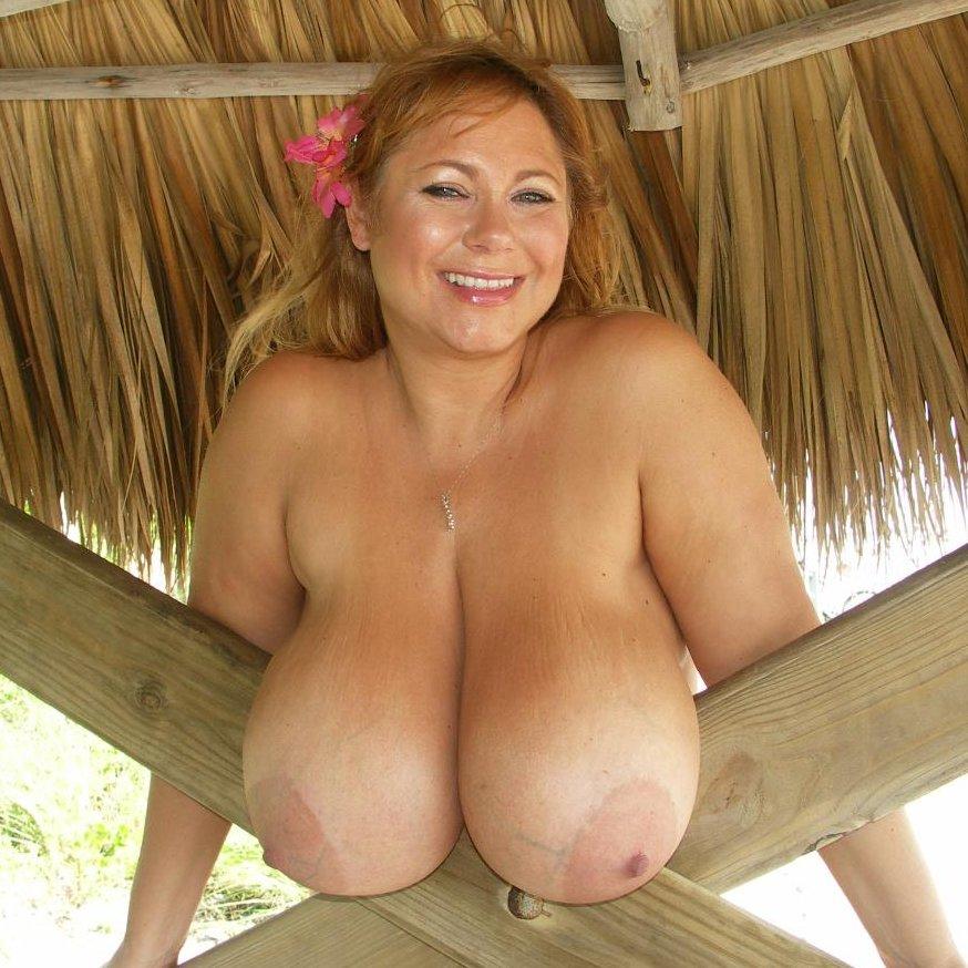 Tits Low Big Hanging Adult Photo