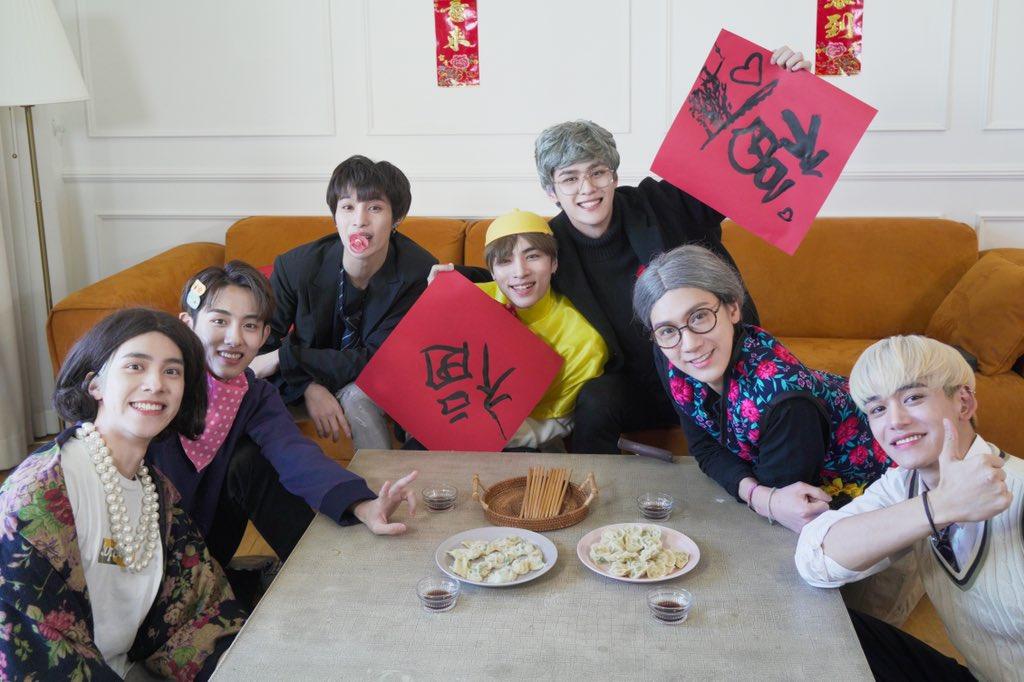 新春快乐! 威神V祝大家2021年,好事多多!笑容多多!开心每一秒!快乐每一天!幸福一整年!健康到永远! 辛丑年也和威神V一起度过快乐的一年噢💚 ⠀ #威神V #WayV #WeiShenV