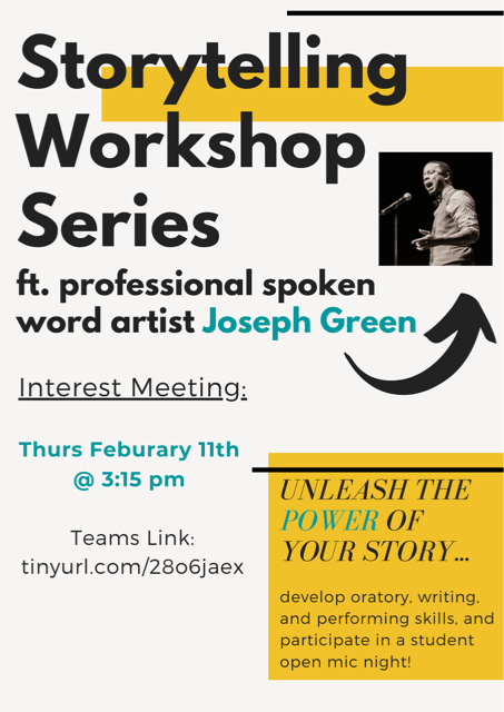 Want to unleash the power of your story? Learn how to LISTEN, SPEAK, and BE HEARD at WL's bimonthly Storytelling Workshop Series. <a target='_blank' href='https://t.co/BjwIKM1Ly3'>https://t.co/BjwIKM1Ly3</a>