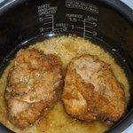 旨味がお米に染みて凄く美味しくなりそう!KFCのフライドチキンを使った炊き込みご飯!