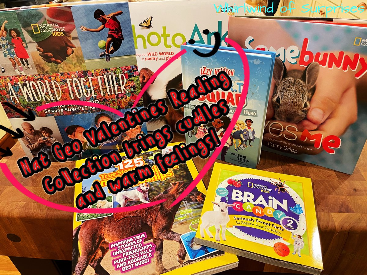 Educational fun Valentine's Reading Gifts from Nat Geo