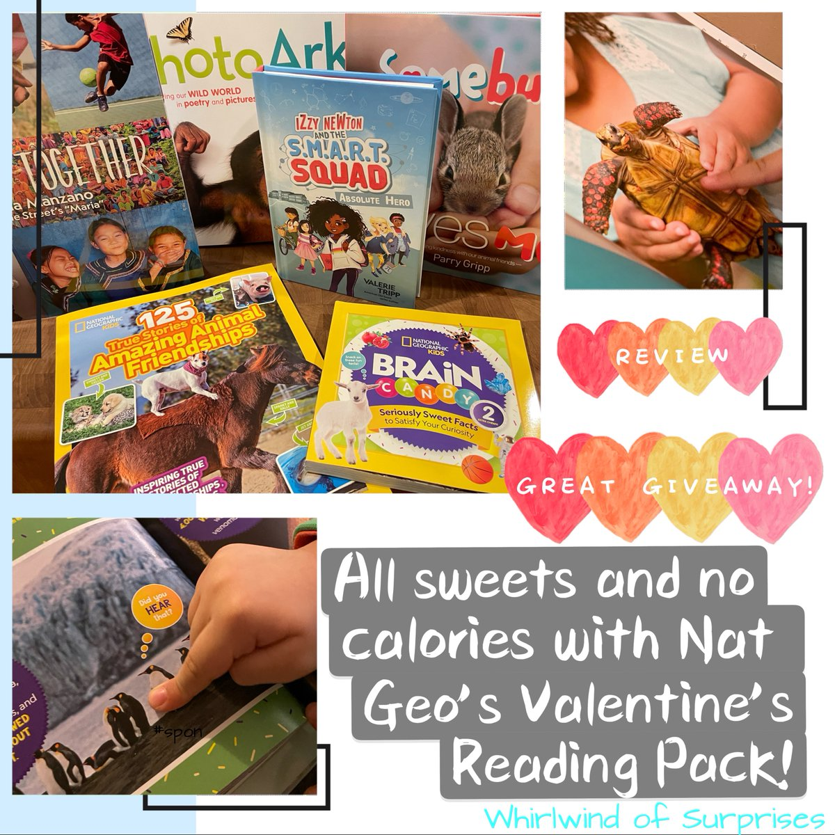 Budding readers will love these Valentine's Day Reading from Nat Geo