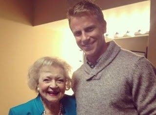 #tbt to 2013 when Sean Lowe swooned just about all the ladies in the U.S. under the age of 99  #TheBachelor #seanlowe #bettywhite #bettywhite99 #Bachelor #bachelornation