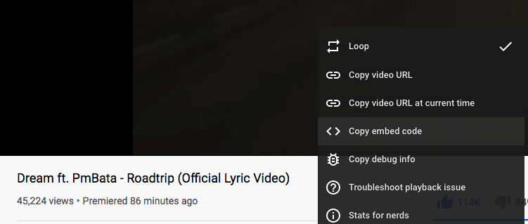 Did you also turn loop on and have it running in the bg since its release? #ROADTRIP