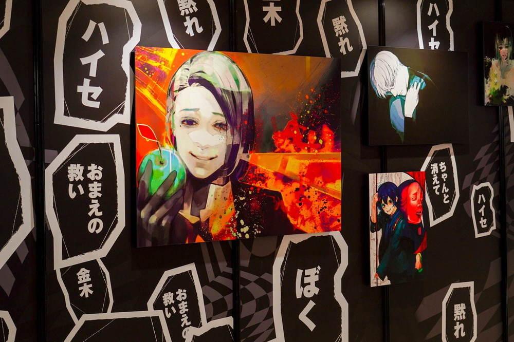 「石田スイ展[東京喰種 ▶ JACKJEANNE]」初の大規模展が東京・福岡で、初期原稿も初公開 -