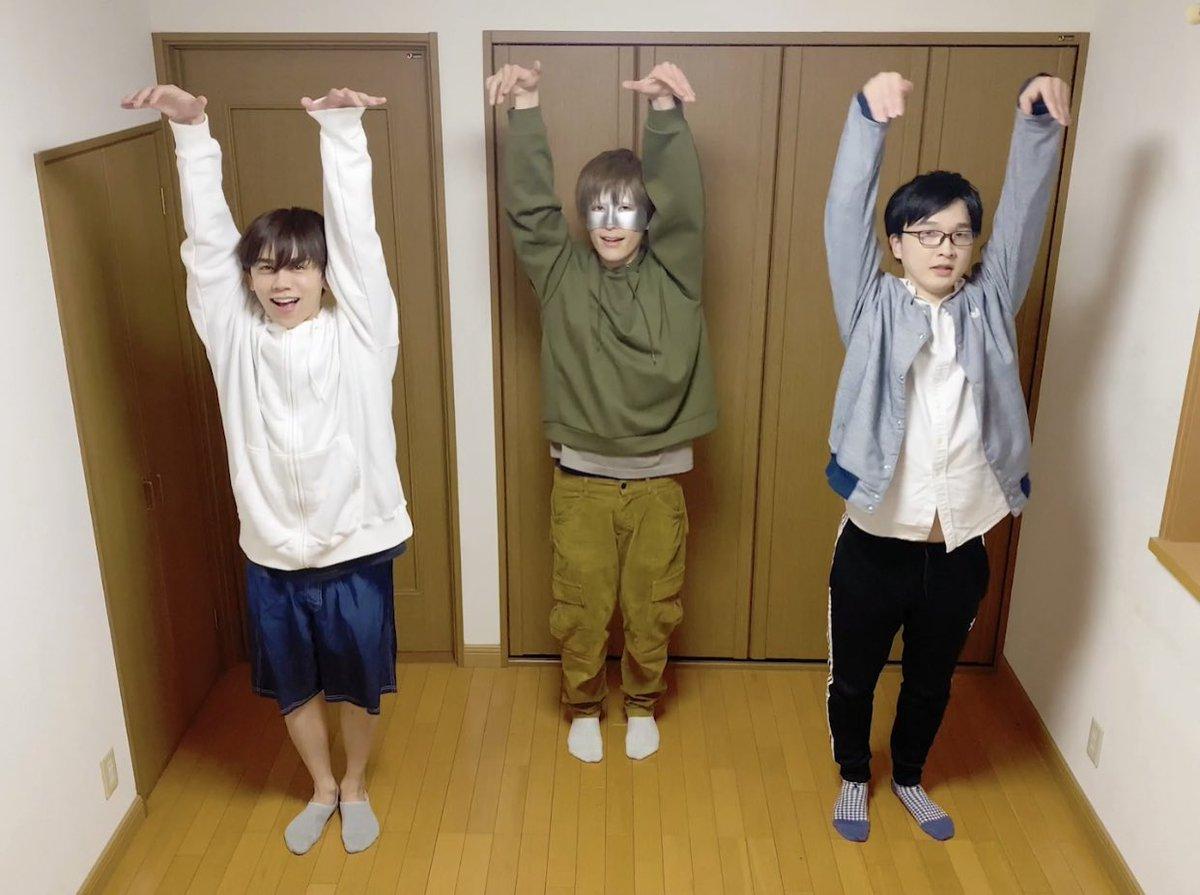 【13年目】男3人で Perfume - 再生 を踊ってみた  @YouTubeより