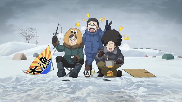 アニメ『ゆるキャン△』に『水曜どうでしょう』藤村D&嬉野Dが出演。1~6話の無料配信も決定!【ここをキャンプ地と……】#ゆるキャン#水曜どうでしょう