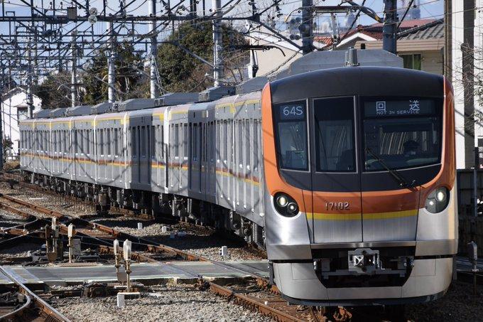 【まもなく営業運転開始か】東京メトロ17000系17101・17102Fが試運転を終え返却