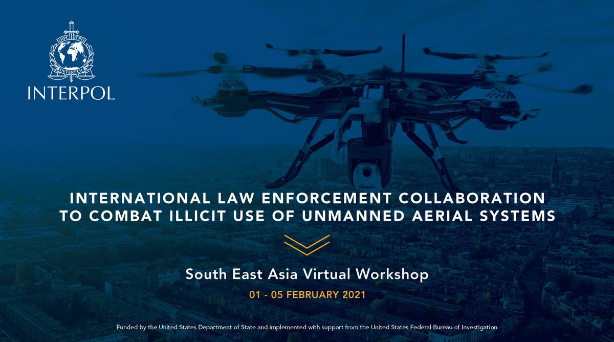 Big thank you to everyone who participated in our 5 day #webinar on combating the illicit use of #UAS. With the support of subject matter experts & colleagues from #SoutheastAsia, we were able to promote regional awareness, collaboration & capacity in countering the #dronethreat.