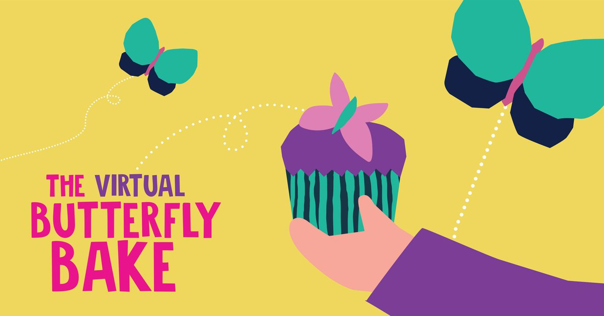 🍪Go with the dough this March & take part in The Virtual Butterfly Bake!  🍰Take part from the comfort of your kitchen. 🦋By raising some dough for the hospice, you could support the end of life care provided in our Butterfly Suites. 👉Get involved here: