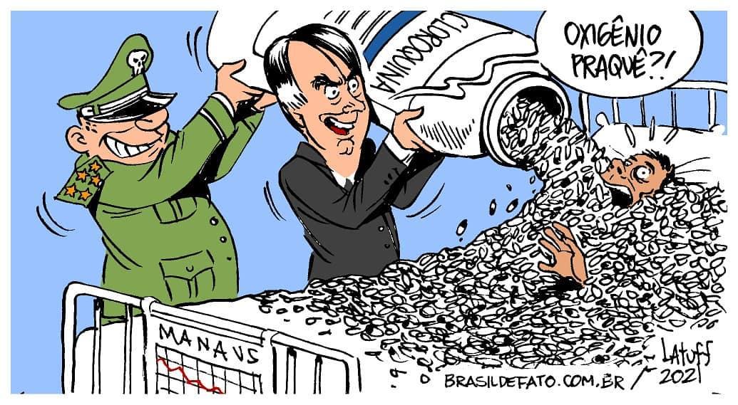 """Ο χρήστης Ciro Gomes στο Twitter: """"Sem comprovação científica, Bolsonaro  virou garoto-propaganda da cloroquina como se fosse a cura para a Covid.  Enquanto sobra cloroquina, faltaram medicamentos essenciais para intubação,  vacinas e"""