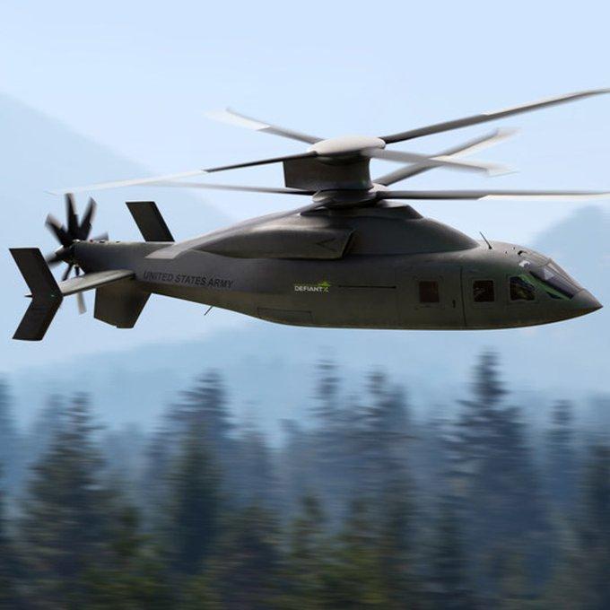 Sikorsky Boeing Defiant X