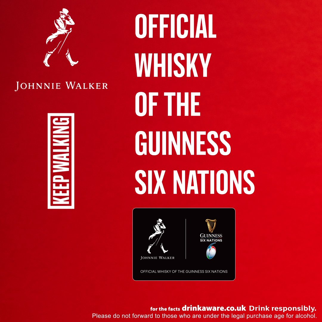 Choose your team. Mix your highball. Thistle Vs. Rose. Like we need to ask really 😉 Official whisky of @Sixnationsrugby
