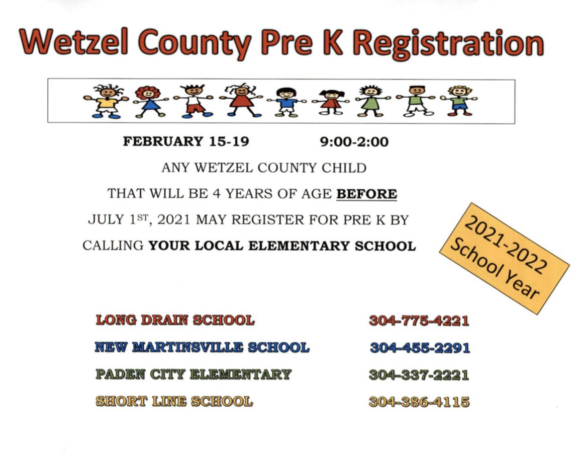 Wetzel County School Calendar 2021-2022 Background