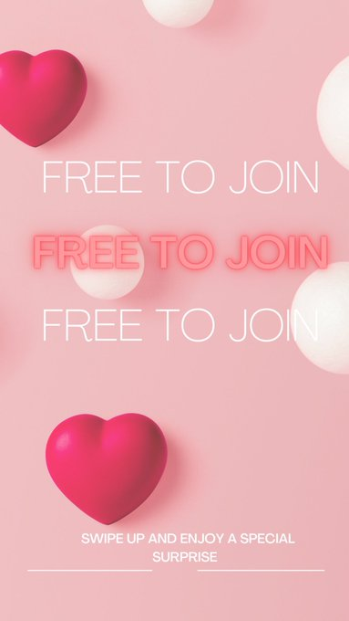 💕Be my valentines for free!! Limited time!💕 https://t.co/X4owcDVwSA https://t.co/kEWw90YDCK
