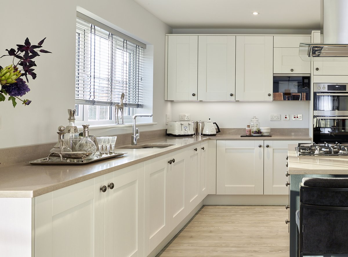 New build developer Croudace Homes has agreed a partnership that will see customers buying luxury plots offered one of five Caesarstone #quartz kitchen worktop surfaces in numerous developments across the South East. caesarstone.co.uk/latest-news/fe… #property #architecture #construction