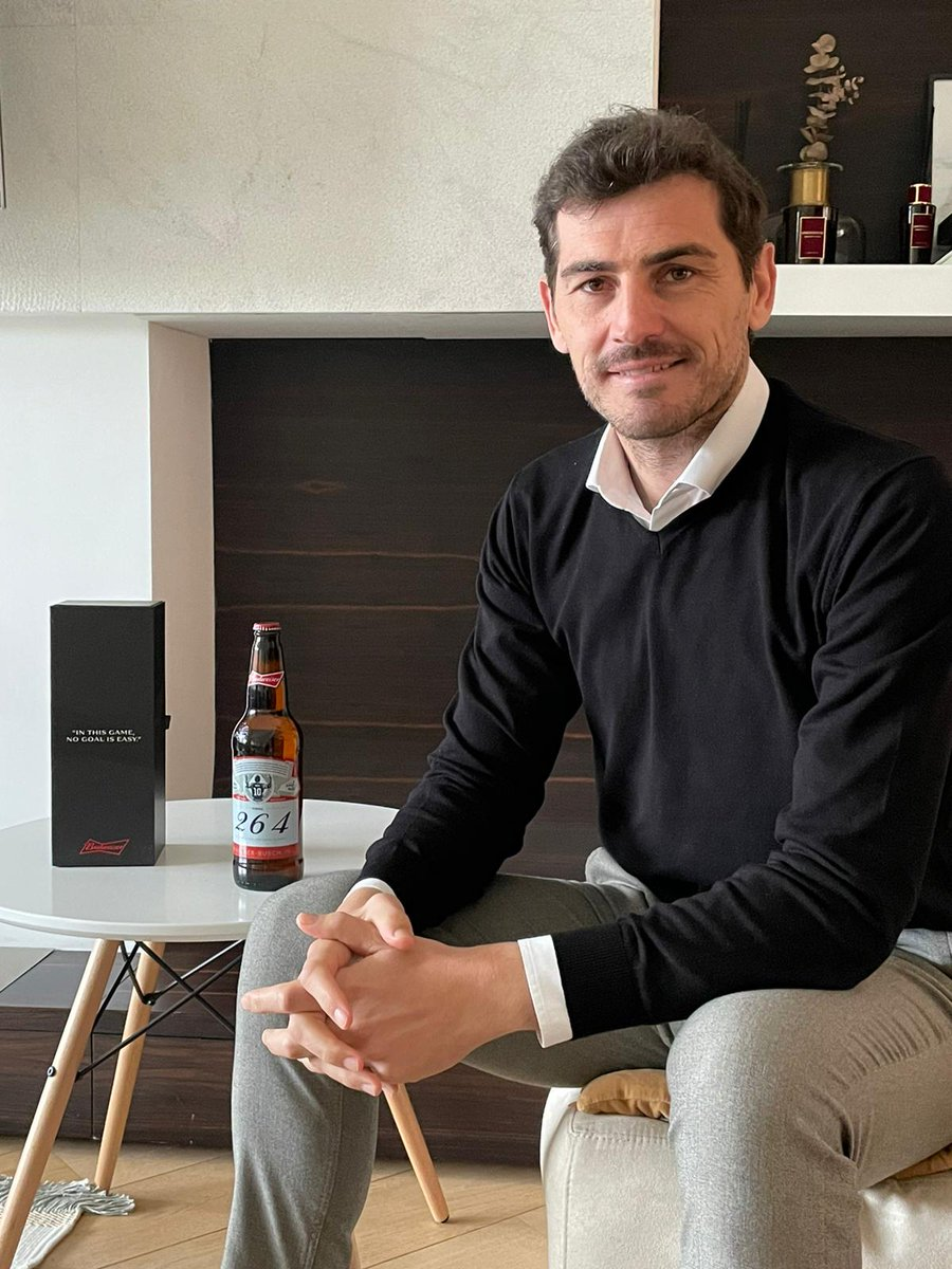 """""""Being the last line of defence against Leo isn't easy, but again and again on the biggest stages you proved more than up to the challenge.""""  @IkerCasillas @LaLiga   #BeAKing #Messi #KingOfBeers #KingOfFootball #laligaicons"""