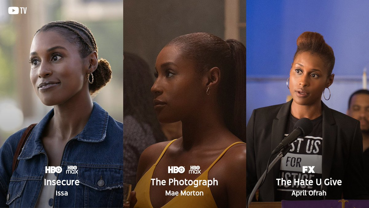 To honor those who #CreateBlackHistory, let's talk about the incomparable, @issarae!  She went from @YouTube to the ever-insightful and sidesplitting @insecurehbo. She drew us in (& made us🥵) in @PhotographMovie, and stood up to injustice in @TheHateUGive. Show some ❤️ for Issa!
