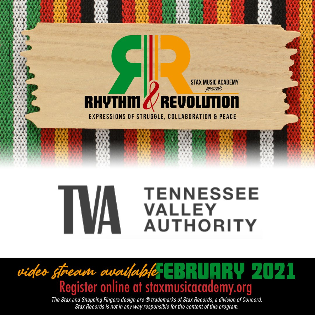 Thank you @TVAnews for sponsoring Stax Music Academy's 2021 Black History Month Celebration!