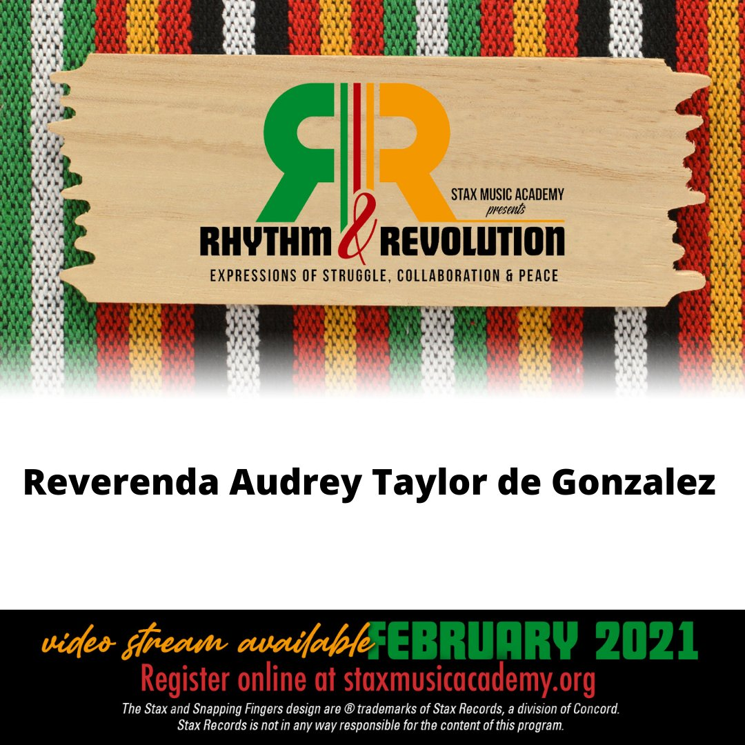 And thank you @audreytgonzalez for sponsoring Stax Music Academy's 2021 Black History Month Celebration!